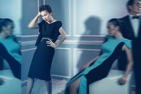 Thanh Hằng 'phiêu' trong mẫu váy mới của Công Trí ảnh 2