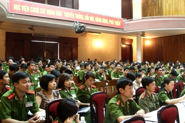 Tham dự đại hội là những gương mặt trẻ ưu tú của Đoàn Thanh niên Học viện
