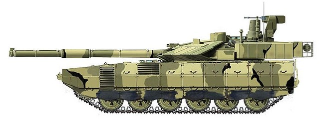 Hé lộ sức mạnh siêu tăng Armata của Nga ảnh 4