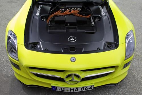 Mercedes-Benz sản xuất SLS AMG E-Cell Prototype ảnh 6