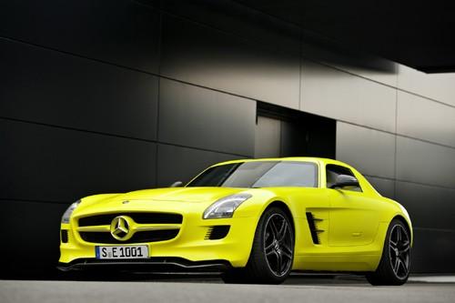 Mercedes-Benz sản xuất SLS AMG E-Cell Prototype ảnh 5