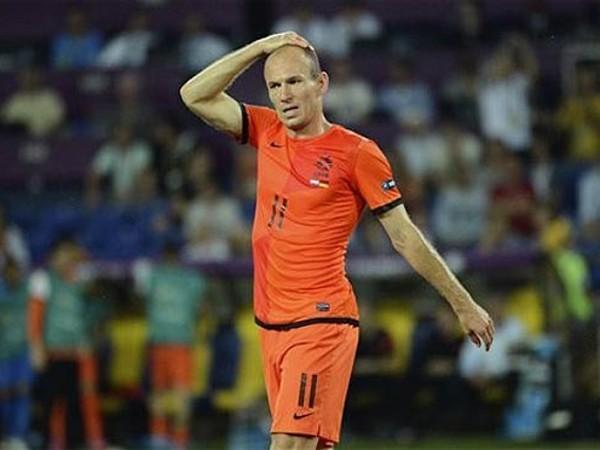 Robben đang gặp vấn đề trong khâu ghi bàn
