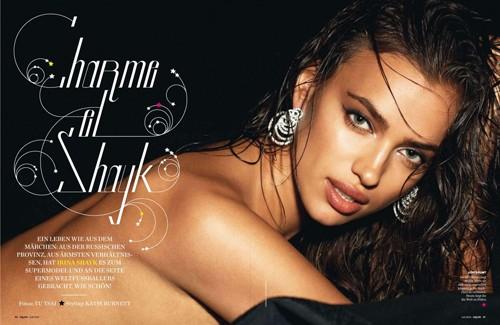Irina Shayk 'nổi lửa' trên tạp chí dành cho đàn ông ảnh 1