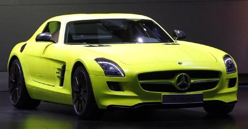 Mercedes Benz SLS AMG E-Cell – mẫu siêu xe điện có cửa mở kiểu cánh chim sẽ được đưa vào dây chuyền sản xuất trong năm 2013