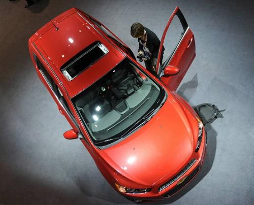 Chevrolet Sonic thế hệ 2012 sẽ được đưa vào sản xuất từ cuối năm nay