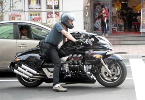 Honda Valkyrie phiên bản độ 'Vua rồng' ảnh 2