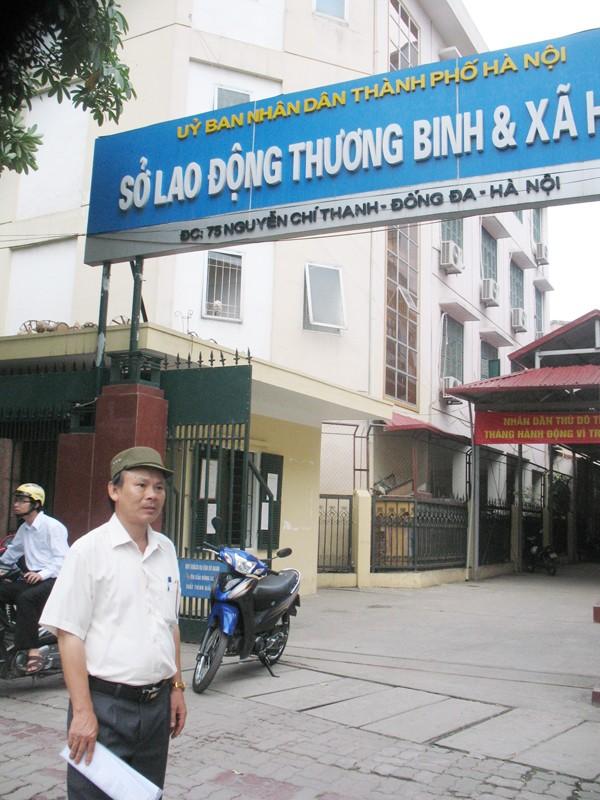 Ông Vũ Tiến Nam, bố đẻ kỹ sư Lâm tại Sở LĐTB&XH Hà Nội