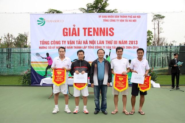 Sôi động giải tennis Transerco lần thứ III ảnh 5
