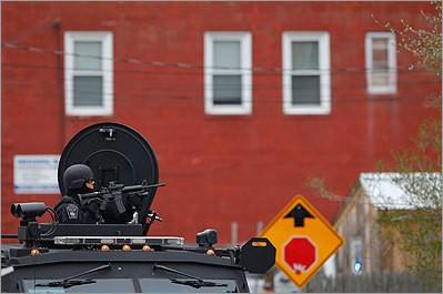 Một cảnh sát tại Watertown