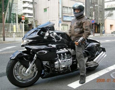 Honda Valkyrie phiên bản độ 'Vua rồng' ảnh 1
