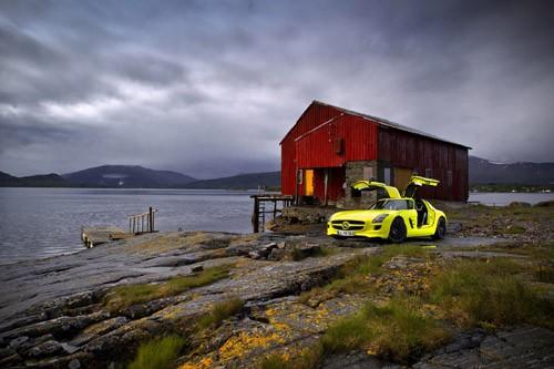 Mercedes-Benz sản xuất SLS AMG E-Cell Prototype ảnh 14