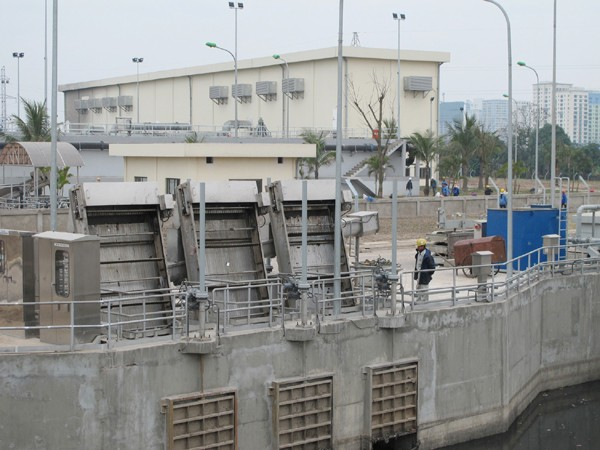 Nhà máy xử lý nước thải Yên Sở - một trong những dự án BT của Hà Nội