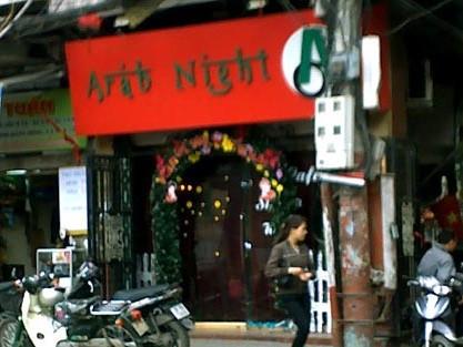Quán cà phê Arap Night, nơi phát hiện các đối tượng sử dụng ma túy tổng hợp tụ tập