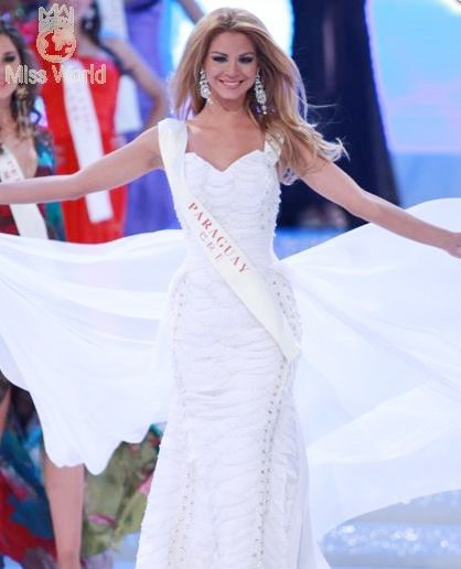 Ngắm các thí sinh tại đêm Chung kết Miss World 2010 - Phần 2 ảnh 3