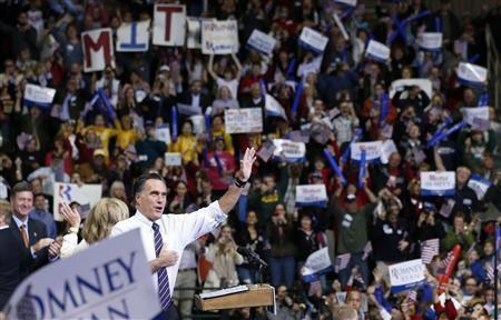 Ông Romney tại Fairfax, Virginia hôm 5-11