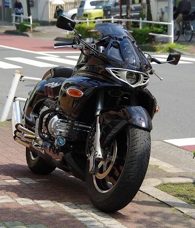 Honda Valkyrie phiên bản độ 'Vua rồng' ảnh 4