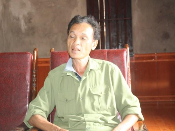 Ông Nguyễn Khắc Sử, bố của Lệ. Ảnh: Nguyễn Trường