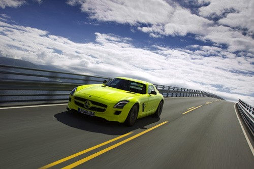 Mercedes-Benz sản xuất SLS AMG E-Cell Prototype ảnh 3