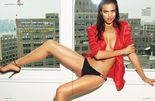 Irina Shayk 'nổi lửa' trên tạp chí dành cho đàn ông ảnh 2