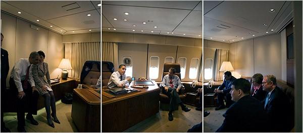 Phòng làm việc đặc biệt của Tổng thống trên Air Force One