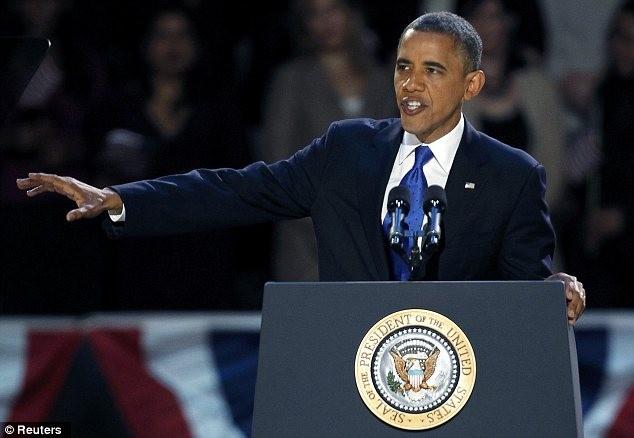 Ông Obama phát biểu trước công chúng tại Chicago