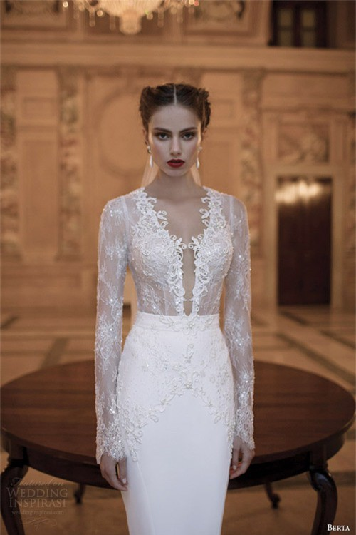 Váy cưới dành riêng cho cô dâu nóng bỏng ảnh 10
