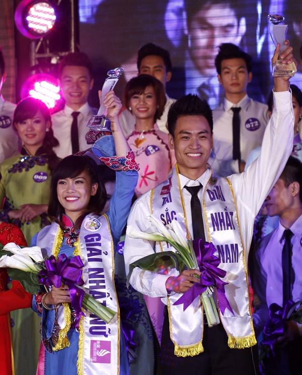 Thể hiện tốt ở các phần thi, nhất là phần thi ứng xử, Hoàng Minh Trí – Nguyễn Thị Dung xứng đáng giành giải nhất