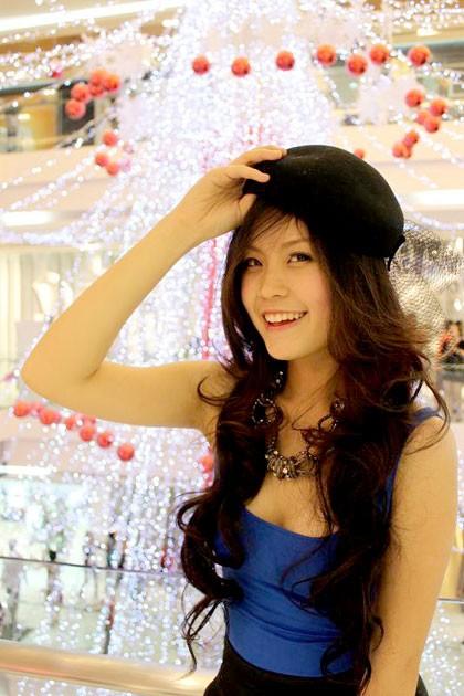Miss Teen Diễm Trang xinh tươi xuống phố ngày Noel ảnh 3