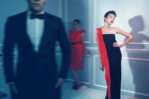 Thanh Hằng 'phiêu' trong mẫu váy mới của Công Trí ảnh 1
