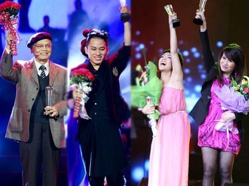Nhạc sĩ Doãn Nho và Tùng Dương đã vượt qua Uyên Linh và nhạc sĩ Lưu Thiên Hương giành tổng giải thưởng 1.3 tỷ đồng