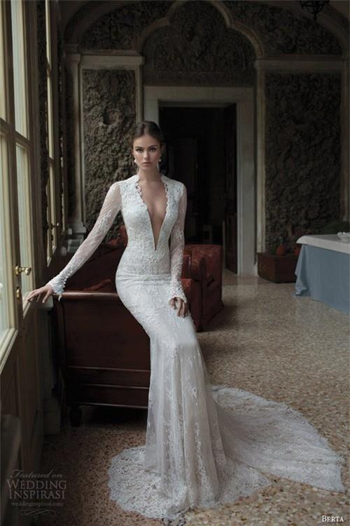 Váy cưới dành riêng cho cô dâu nóng bỏng ảnh 8