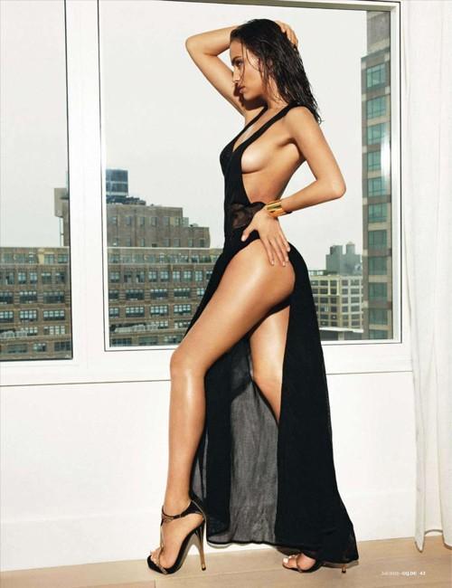Irina Shayk 'nổi lửa' trên tạp chí dành cho đàn ông ảnh 4