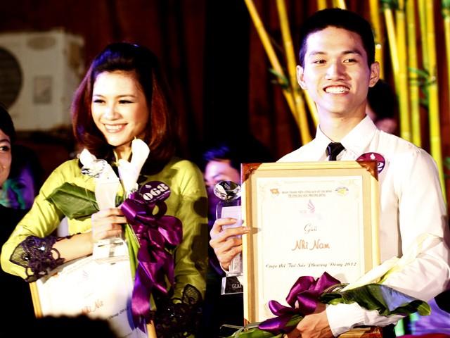 Hoàng Việt Hưng - Đào Thị Oanh Trang đạt giải Nhì