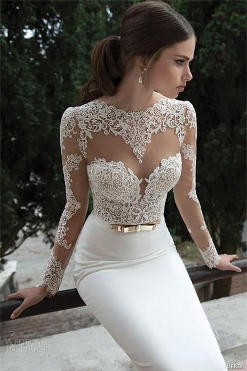 Váy cưới dành riêng cho cô dâu nóng bỏng ảnh 1