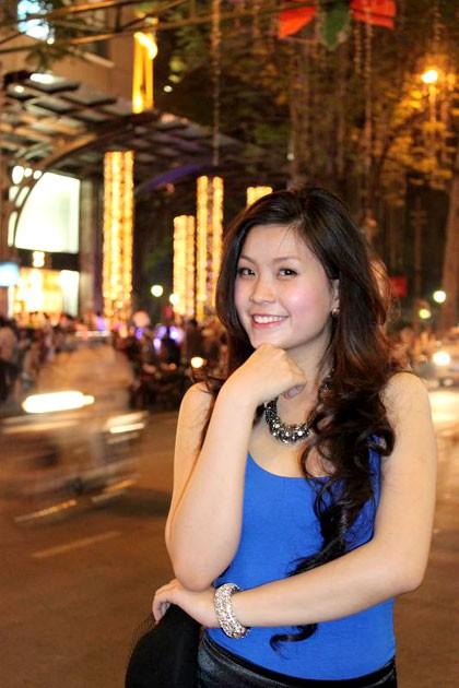 Miss Teen Diễm Trang xinh tươi xuống phố ngày Noel ảnh 4