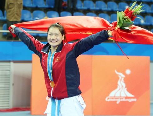 Huy chương Vàng Asiad là danh hiệu lớn đầu tiên trong sự nghiệp của Phương