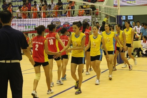 Giải bóng chuyền SVTQ 2012: Anh tài tụ họp tại vòng tứ kết ảnh 3