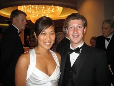 Mark Zuckerberg và bạn gái người Mỹ gốc Hoa Priscilla Chan