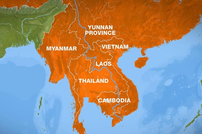 Khu vực Tam giác vàng (Myanmar- Thái Lan- Lào) nổi tiếng với việc sản xuất, buôn bán ma túy. Ảnh: Aljazeera.net