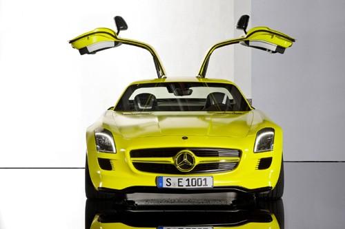 Mercedes-Benz sản xuất SLS AMG E-Cell Prototype ảnh 16