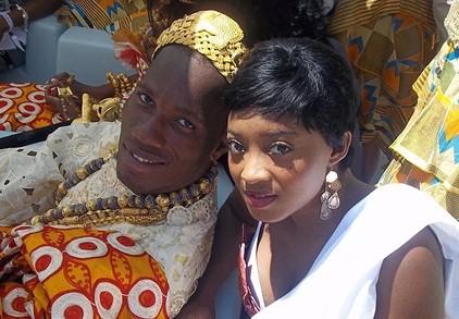 Drogba đeo đầy vàng trong đám cưới ảnh 3