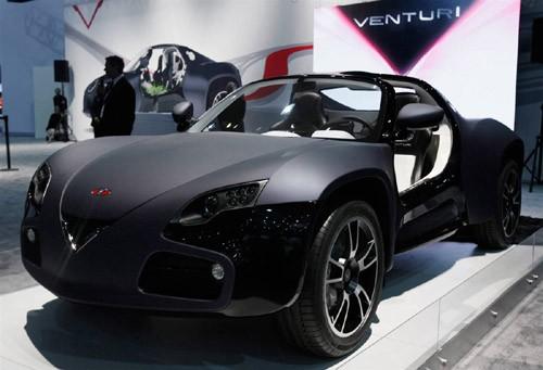 Venturi – mẫu concept được trang bị động cơ 300 mã lực thu hút nhiều sự chú ý