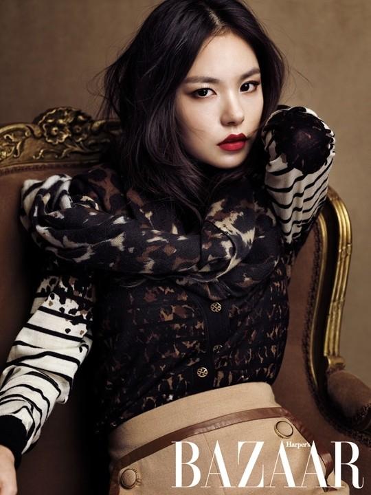 Min Hyo Rin quyến rũ trên BAZZAR ảnh 2