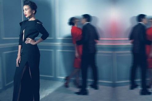 Thanh Hằng 'phiêu' trong mẫu váy mới của Công Trí ảnh 5