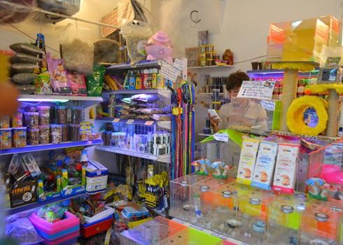 Một góc cửa hàng của Thành trên đường Trần Huy Liệu, quận Phú Nhuận, TP.HCM