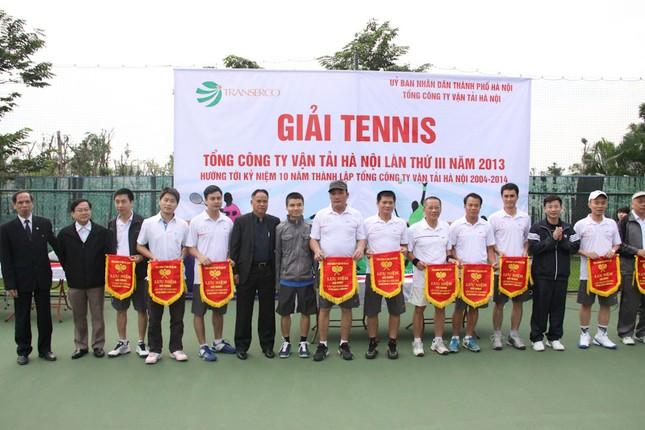 Sôi động giải tennis Transerco lần thứ III ảnh 1