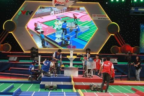 Khai mạc Robocon Việt Nam 2012 ảnh 7