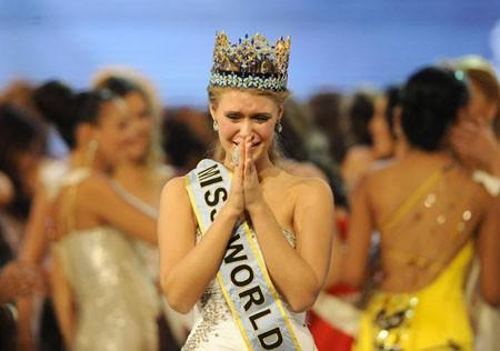 Giây phút đăng quang của Tân hoa hậu Thế giới ảnh 4