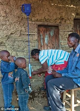 Đây được coi là một phát minh đột phá giúp các nước châu Phi nghèo tiếp cận được với nguồn nước sạch