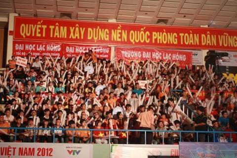 Khai mạc Robocon Việt Nam 2012 ảnh 2